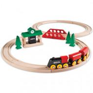 BRIO Klasisks vilciena komplekts, ''8'' formas 33028