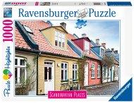 RAVENSBURGER puzle Houses in Aarhus Denmark, 1000gab., 16741 16741