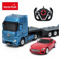 RASTAR radiovadāms auto 1:26 Mercedes-Benz Actros, 74940 74940