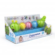 LALABOOM vannas rotaļlieta kreļļu kāpurs, 8 gab., BL500 BL500