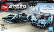 LEGO® 76898 Speed Champions Formula E Panasonic Jaguar Racing GEN2 car & Jaguar I-PACE eTROPHY 76898