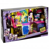 MONSTER HIGH Monster Family Draculaura & Dracula Playset, FCV75