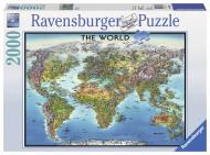RAVENSBURGER puzle World Map 2000p, 166831 166831