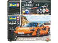 REVELL saliekams modelis McLaren 570S, 67051 67051