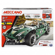 MECCANO MULTI 5 saliekams modelis, Roadster Cabriolet, 6040176 6040176