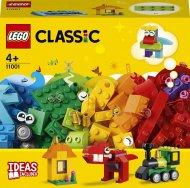 11001 LEGO® Classic Klucīši un idejas 11001