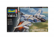 REVELL saliekams modelis F-4J Phantom II 1:72, 63941 3941