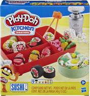PLAY DOH KITCHEN CREATION Sushi spēļu komplekts, E79155L0 E79155L0