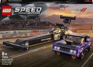 76904 LEGO® Speed Champions Mopar Dodge//SRT Top Fuel Dragster un 1970 Dodge Challenger T/A 76904
