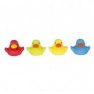 PLAYGRO pilnībā noslēgts vannas rotaļlietas Bright Baby Duckies, 0187480 0187480