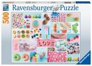 RAVENSBURGER puzle Sweets, 500gab., 16592 16592