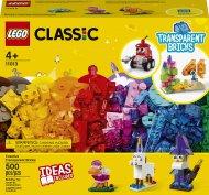 11013 LEGO® Classic Radošie caurspīdīgie klucīši 11013