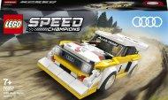 76897 LEGO® Speed Champions 1985 Audi Sport quattro S1 76897